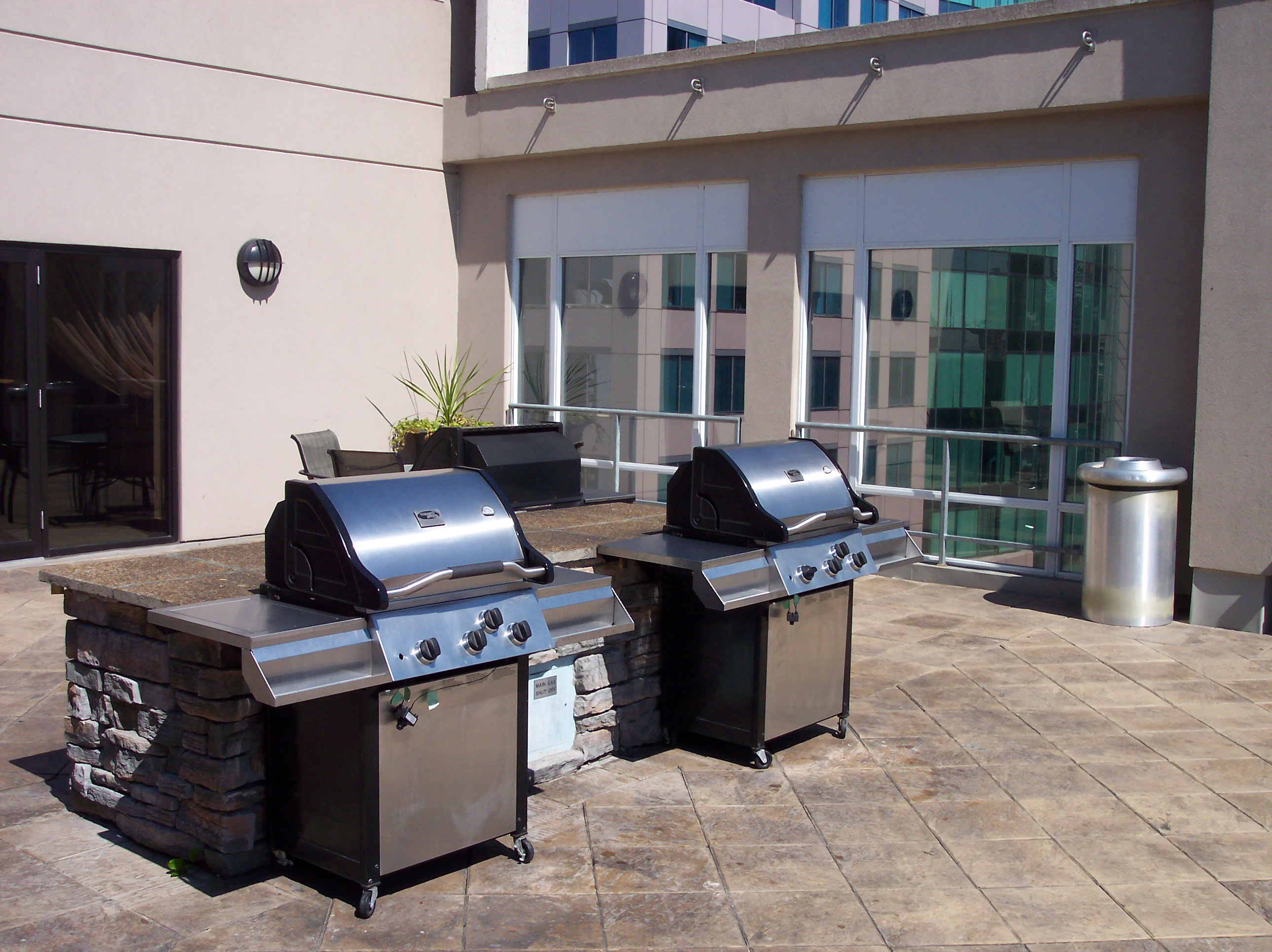 Roof Top BBQ Terrace