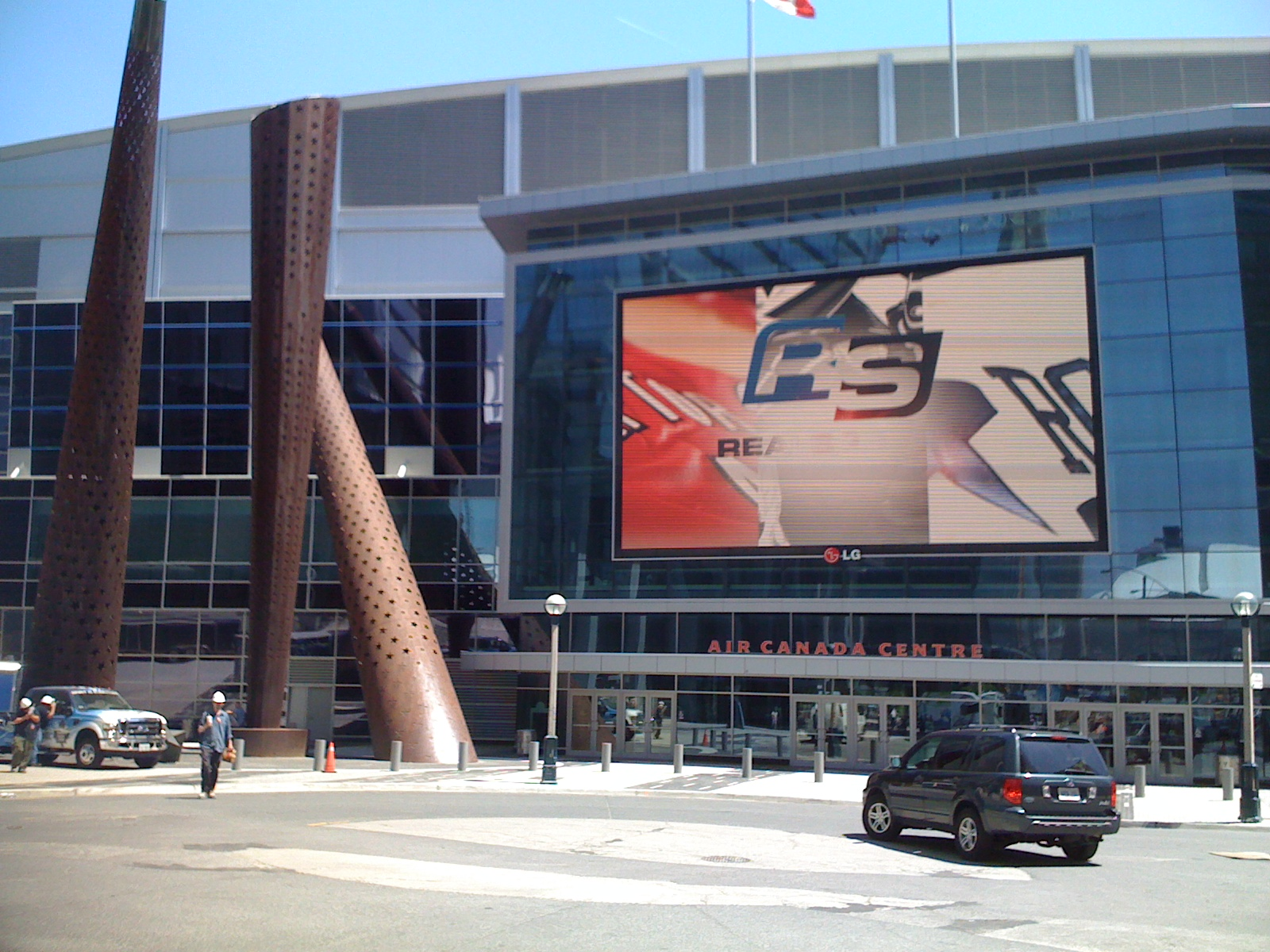 Beside the Air Canada Centre