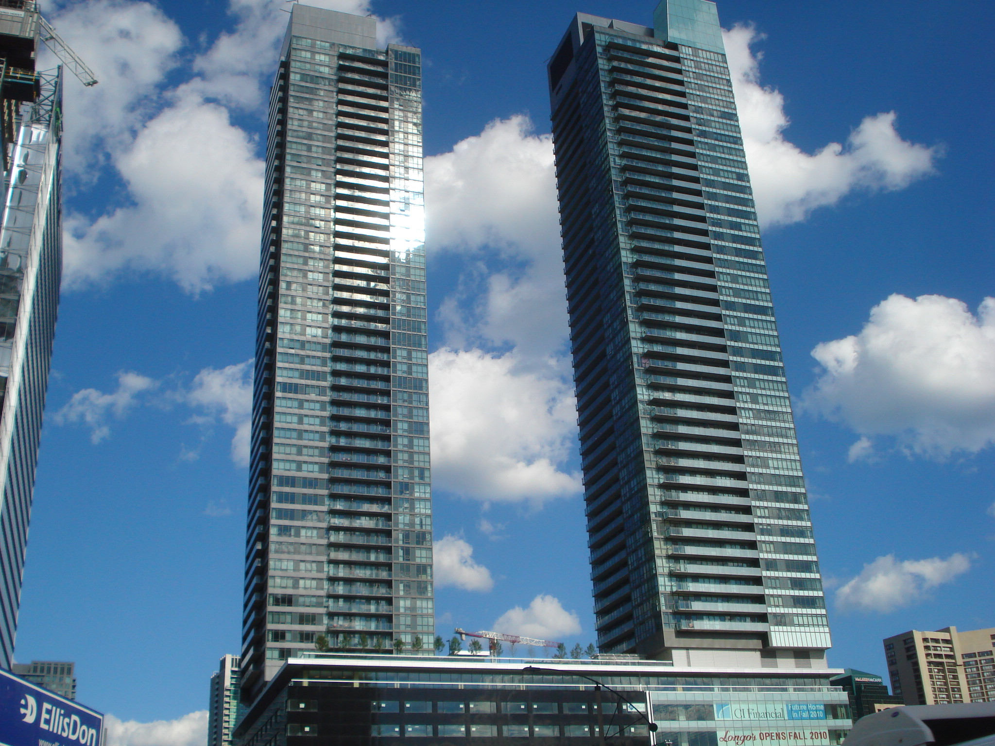 Two Towers 50 Storeys