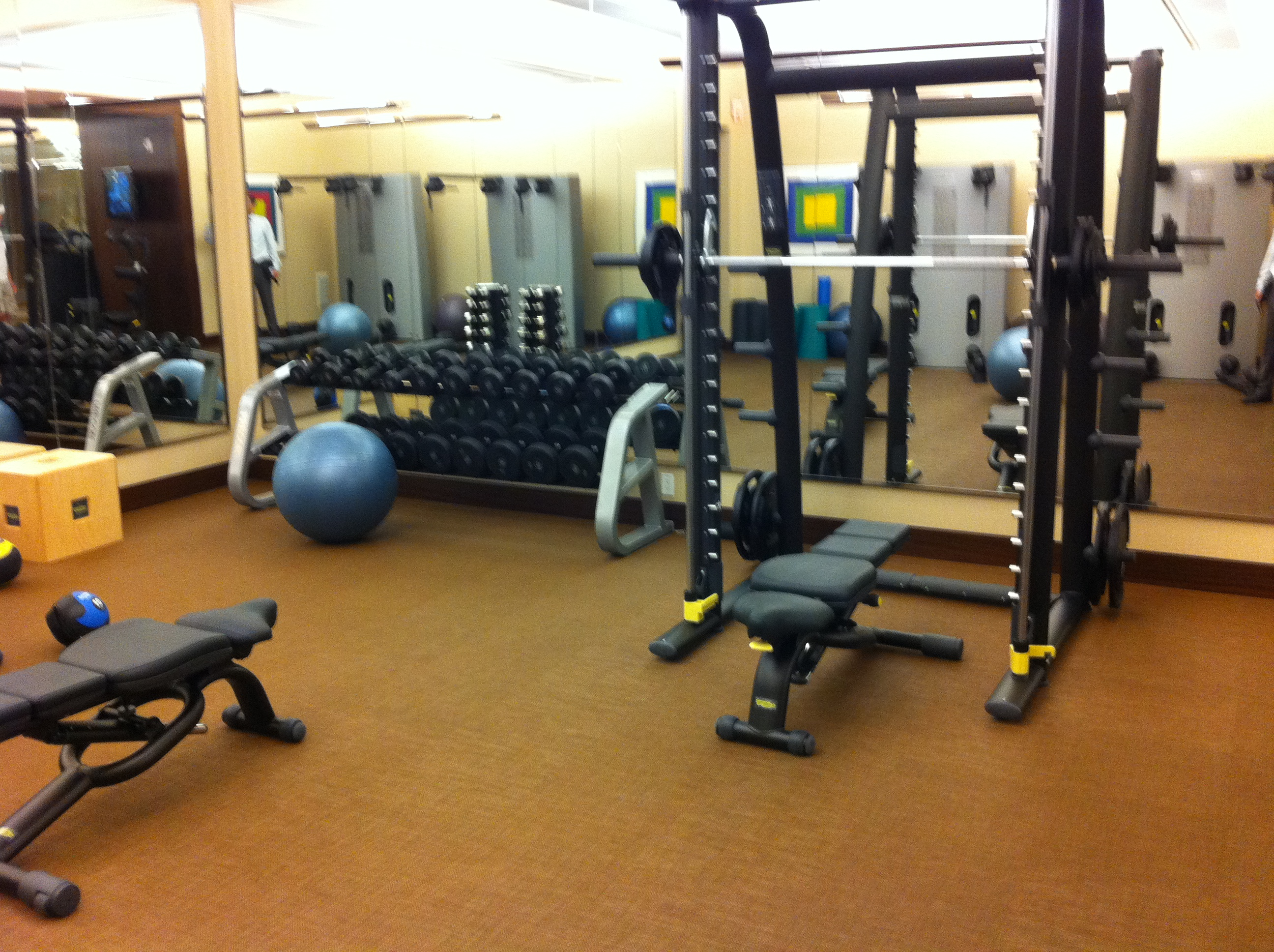 Two Gyms