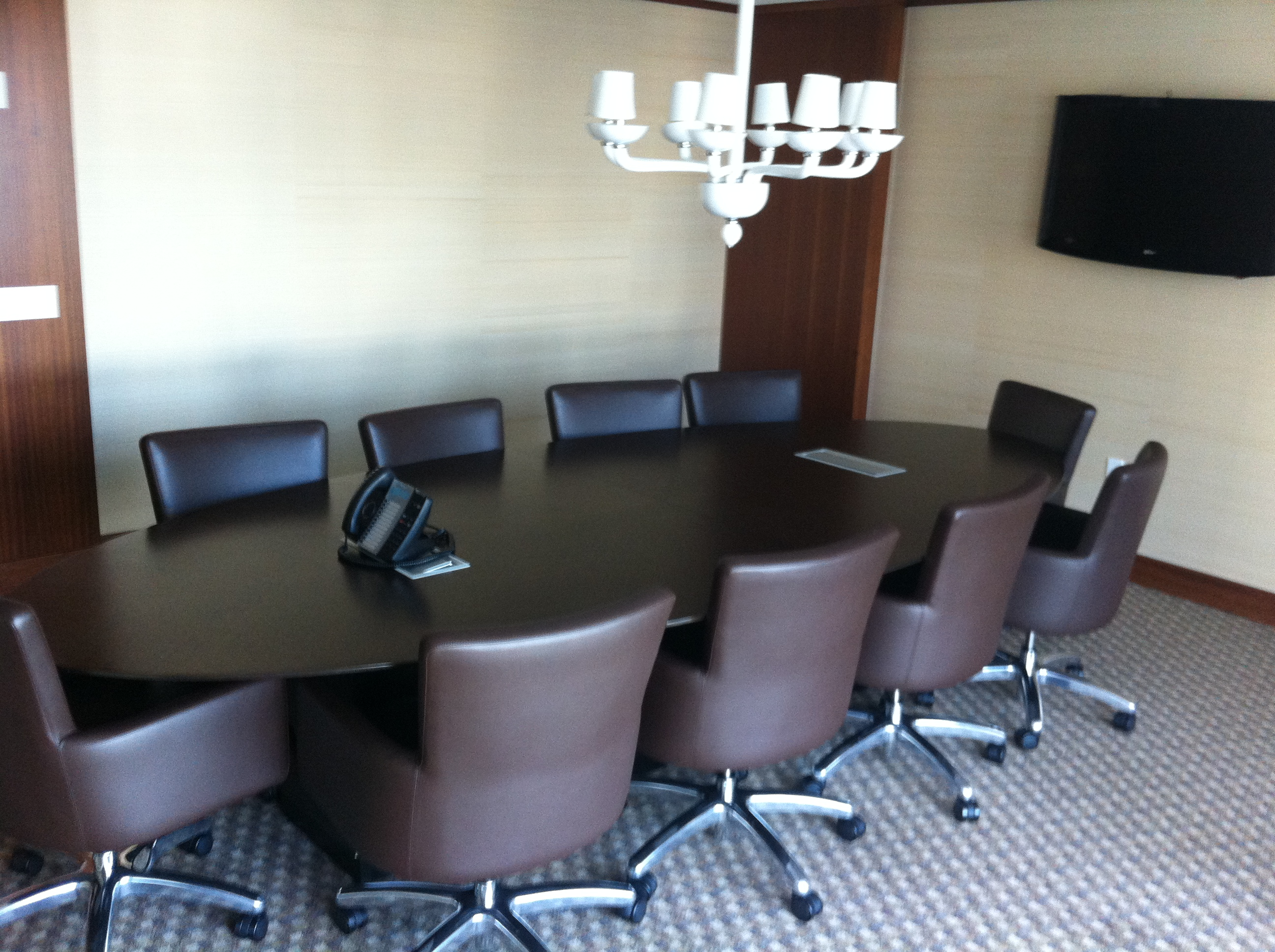 Complimentary Board room services